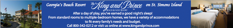 The King and Prince Resort on St. Simons Island, Georgia