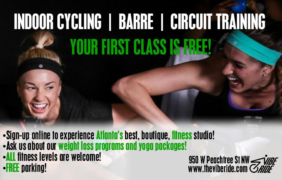 The Vibe Ride - Atlanta Cycling Classes