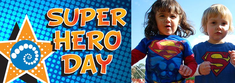 Fernbank Museum Superher Day - Father's Day Event