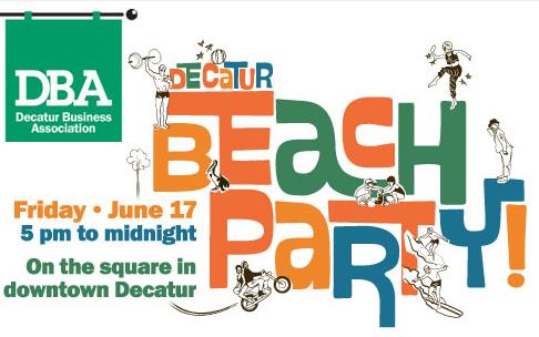 Decatur Beach Party
