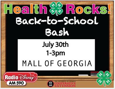 Back to School Bash with Radio Disney Mall of Georgia