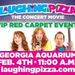 Laughing Pizza Red Carpet Event at Georgia Aquarium
