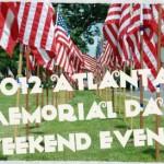 2012 Atlanta Memorial Day Weekend Events