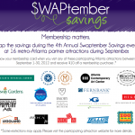 SWAPtember Member Savings