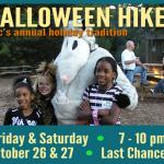 Chattahoochee Nature Center Halloween Hikes 2012