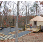 "Go ""Glamping"" in Cloudland Canyon's New Yurts"