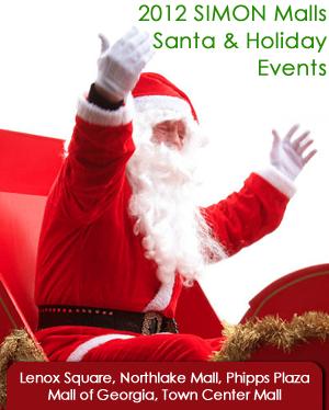 SIMON Mall Santas and Holiday Events