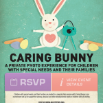 Caring Bunny at Town Center at Cobb SIMON Mall in Kennesaw, Georgia