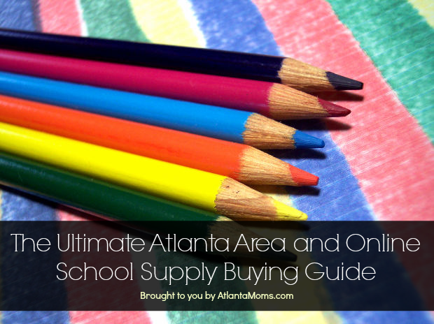 Atlanta school supply shopping guide