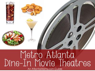 Atlanta area dine-in movie theatres