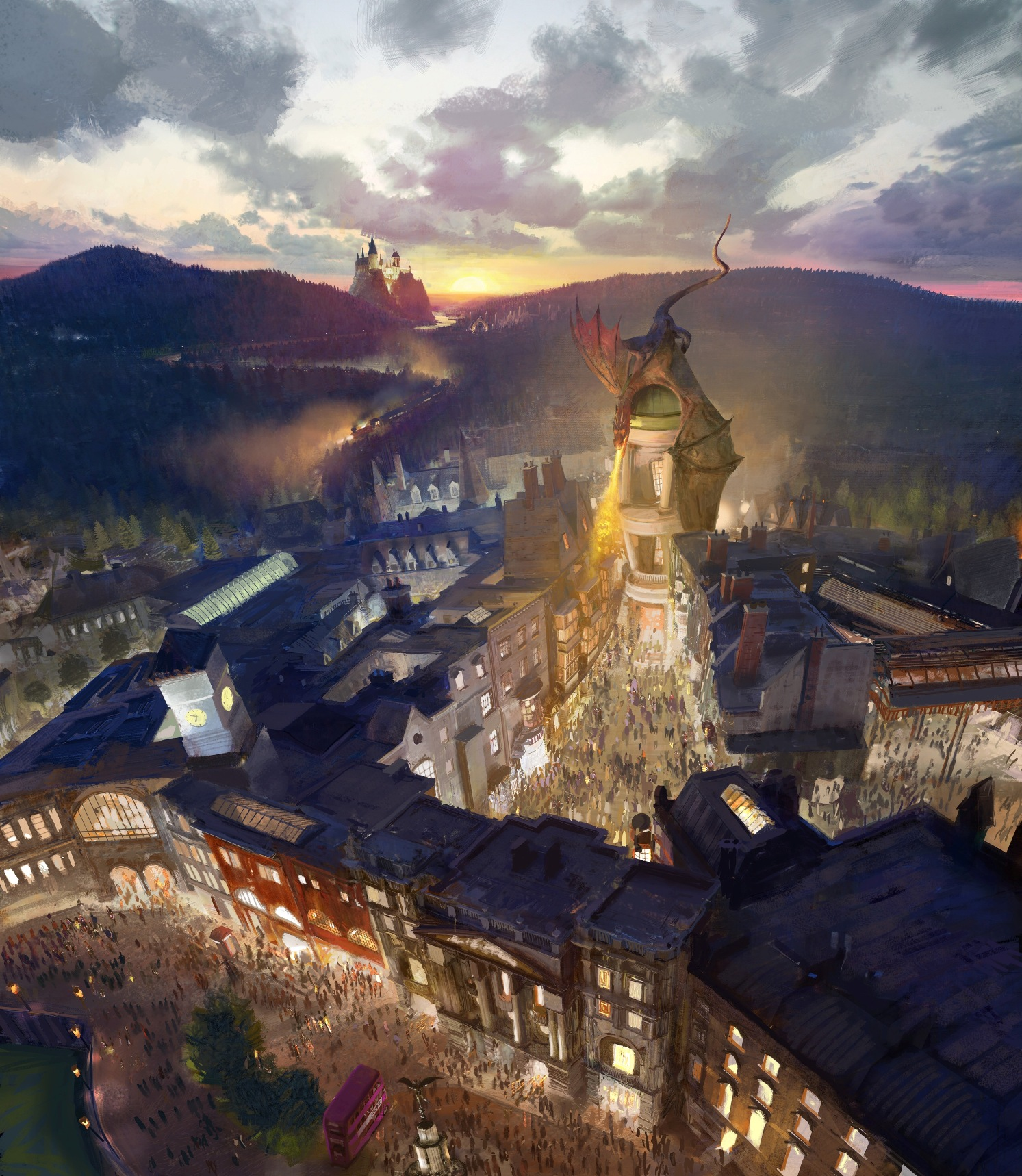 Diagon Alley will come to life at Universal Orlando Resort in 2014