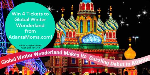 Win tickets to Global Winter Wonderland Atlanta