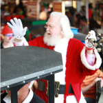 Santa at North Point Mall in Alpharetta