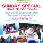 Snow Mountain 2014 Discount Coupon