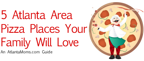 Atlanta area pizza restaurants