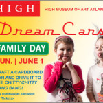 "HIGH Museum ""Dream Cars"" Arts & Rec event"