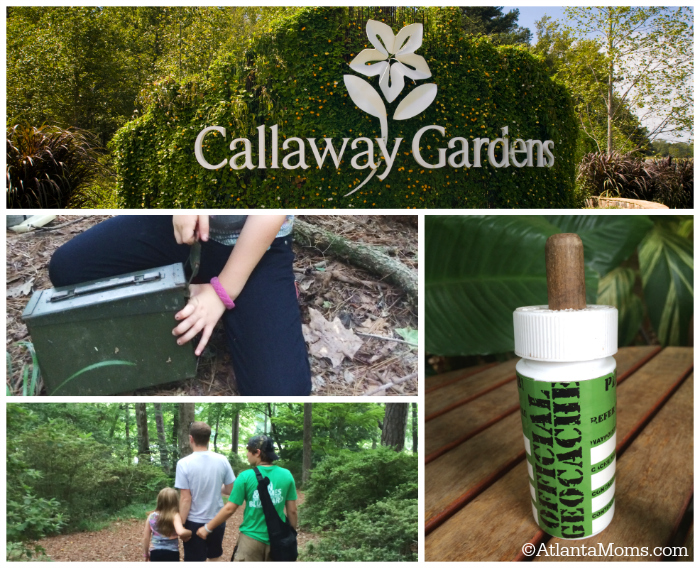 Geocaching at Callaway Gardens