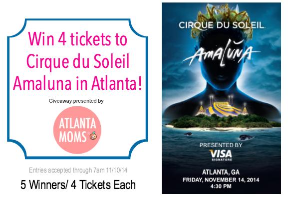Cirque du Soleil Amaluna Atlanta Giveaway
