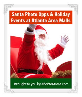 Atlanta Mall Santa
