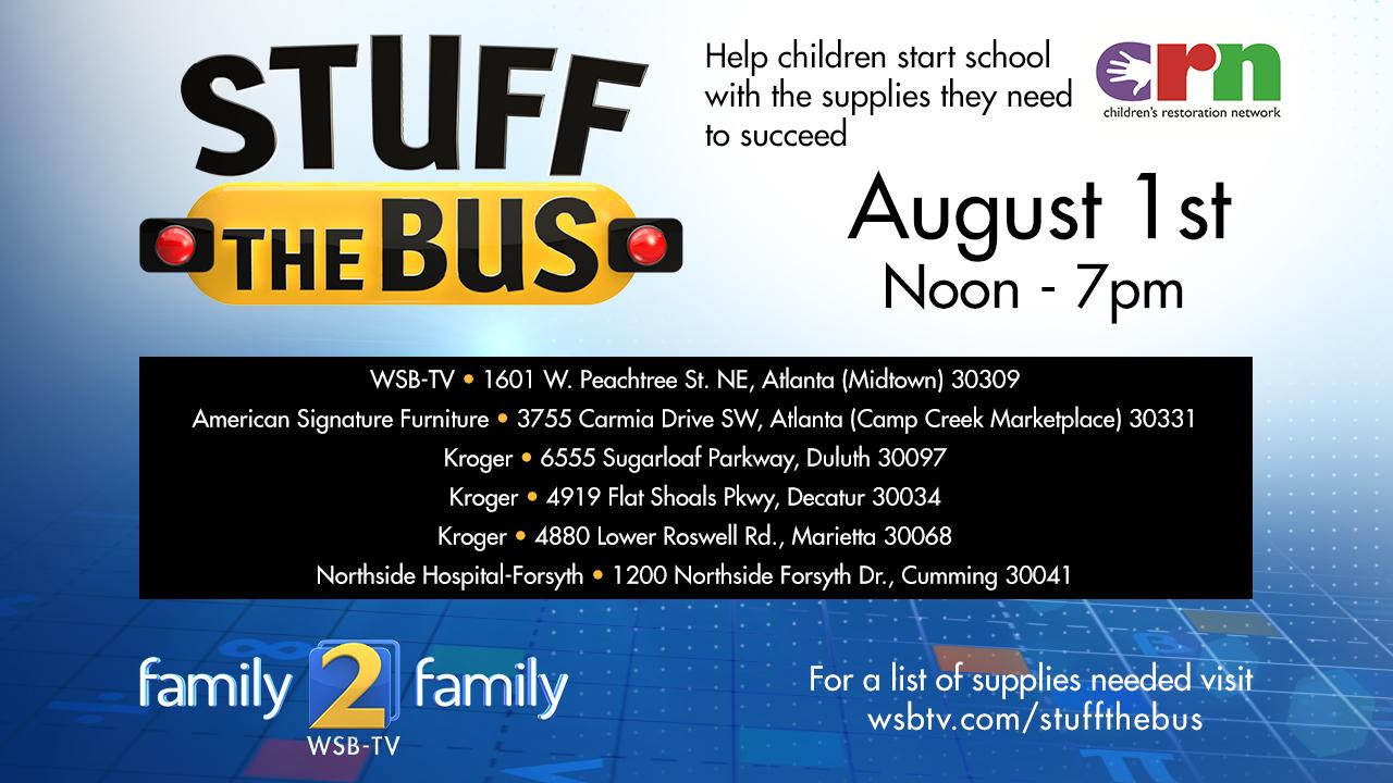 Help Atlanta Children Go Back To School With Much Needed