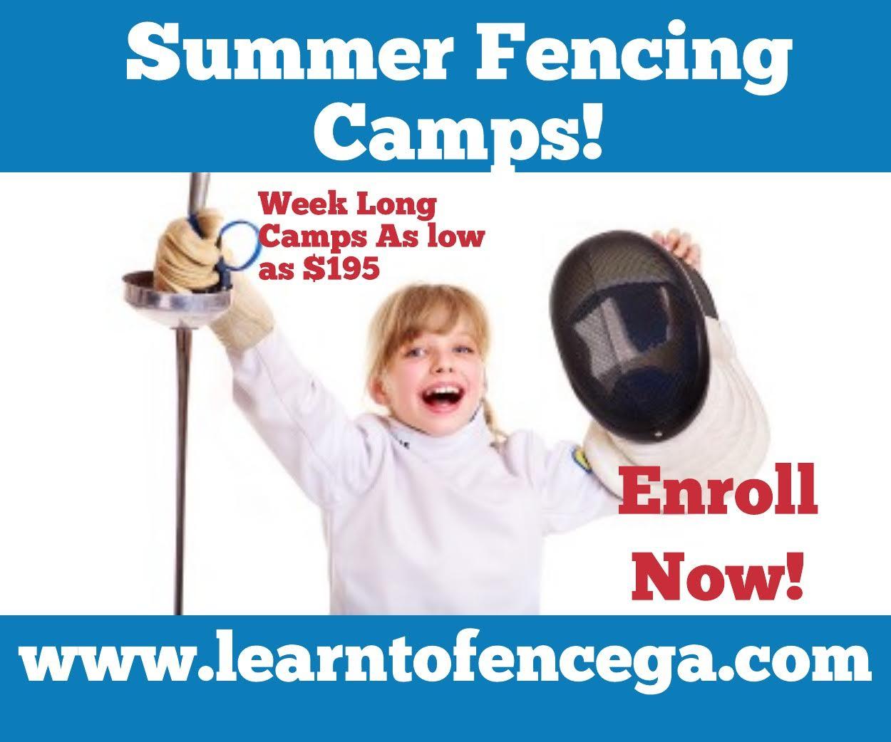 Premier Fencing Alliance summer camp