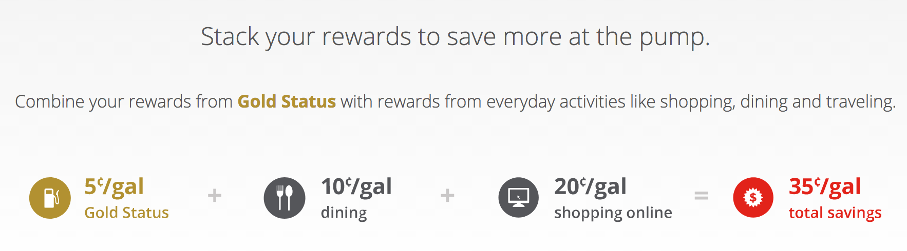 Fuel Rewards savings