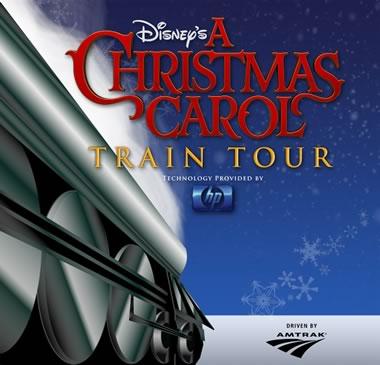 Disney's A Christmas Carol Train Tour