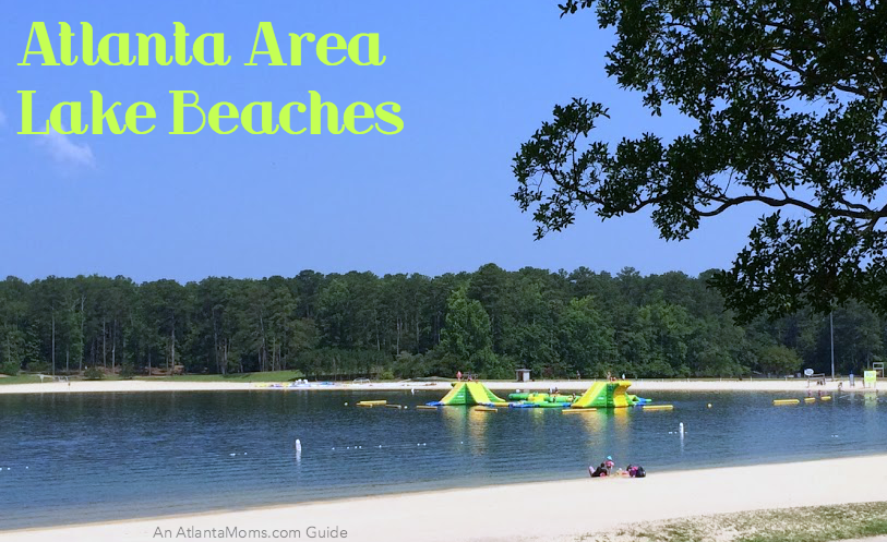 Enjoy A Swim At These 3 Atlanta Area Lake Beaches